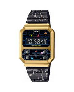 Fint Pac-Man Vintage Limited Edition fra Casio - A100WEPC-1BER