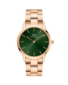 Dameur fra Daniel Wellington - ADW00100419 Icoic Emerald Rose 36 Mm