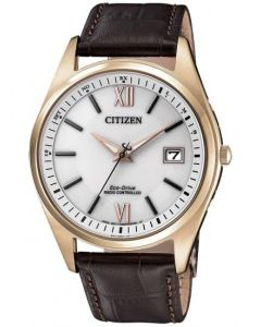 Pænt Eco-Drive Radio Controlled herreur fra Citizen - AS2053-11A