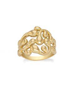 Dancing Drops Forgyldt Sølv Ring fra Rabinovich 75720300